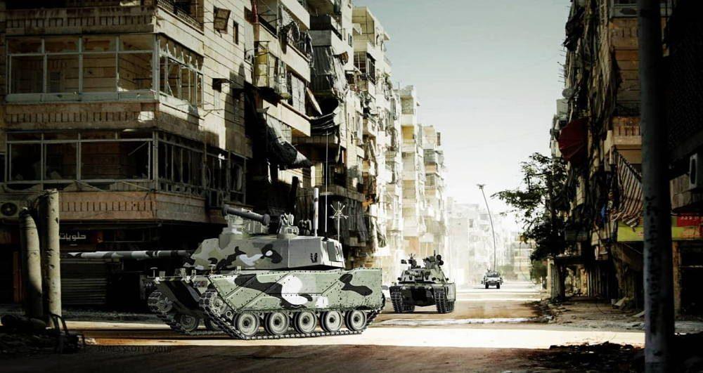 Ejército de los EE.UU. publicó imágenes del Vehículo de Combate de próxima generación