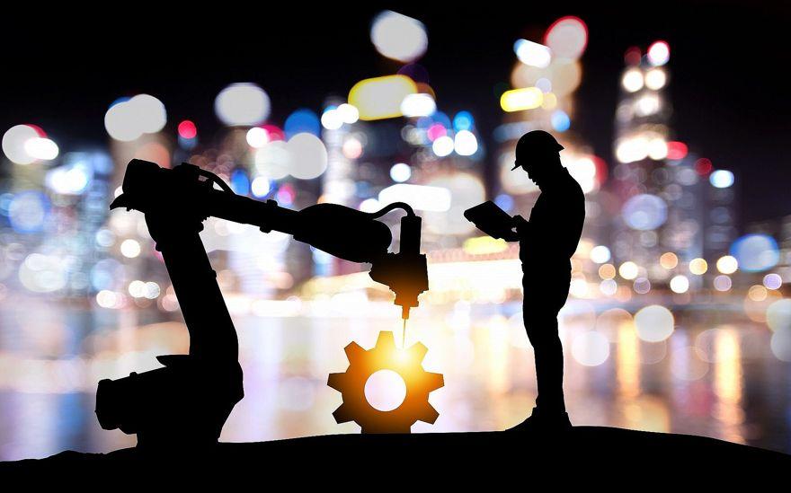 Imagen ilustrativa de la tecnología de robots asistentes, industria 4.0, inteligencia artificial (Jiraroj Praditcharoenkul; iStock by Getty Images)