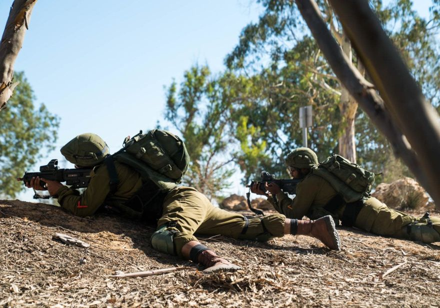 Soldados de las FDI del Comando Sur participan en un simulacro. (FDI)