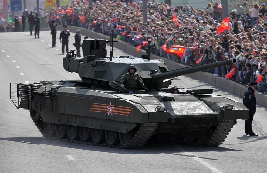 Army 2019: Rusia revela su súper tanque Armata T-14 y el nuevo sistema S-350