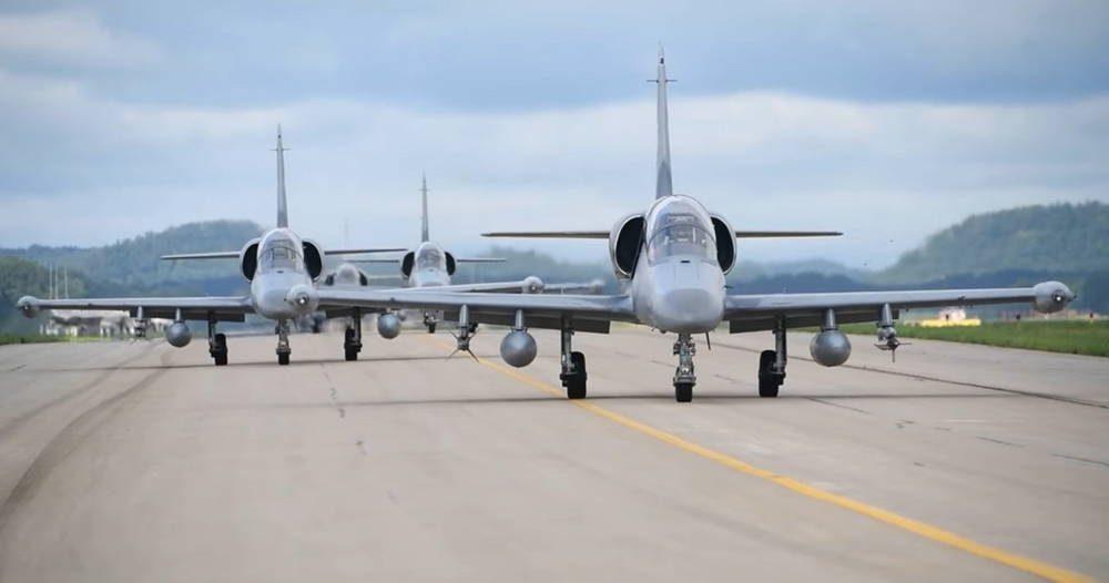 """Cazas F-35A de la Fuerza Aérea de EE.UU. organizaron una """"cacería"""" de aviones L-159"""