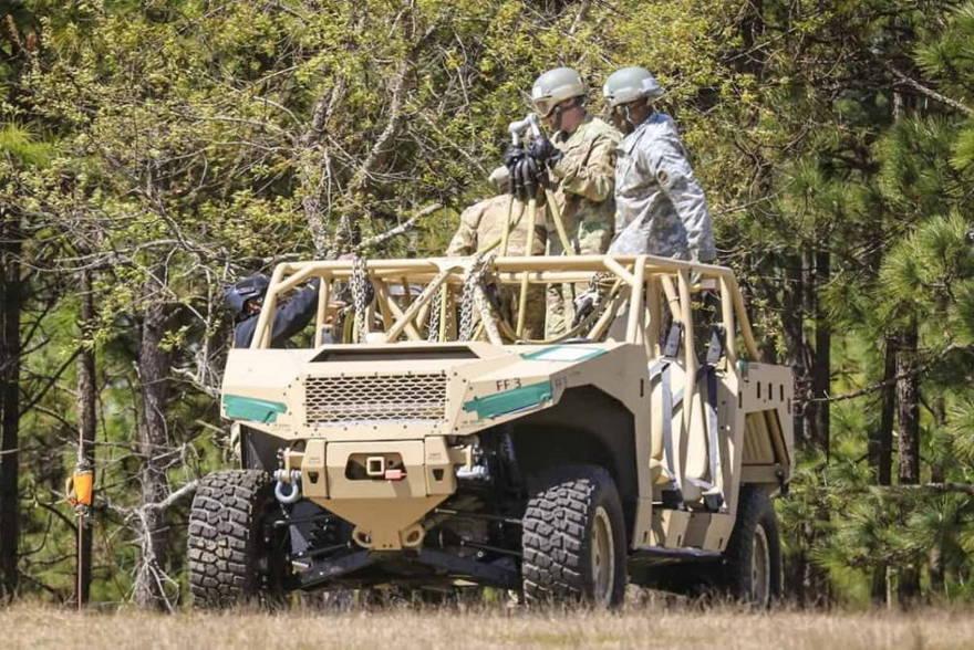 Ejército de EE.UU. selecciona dos conceptos para el próximo prototipo de 'buggy de asalto' de infantería