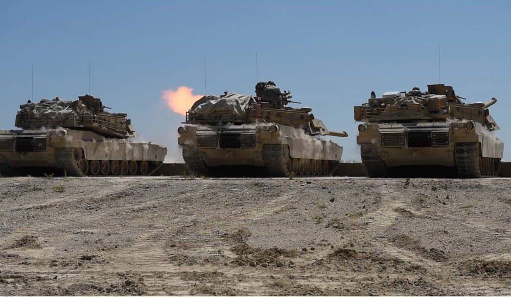 Ejército de los EE.UU. realizan pruebas de fuego en Fort Hood