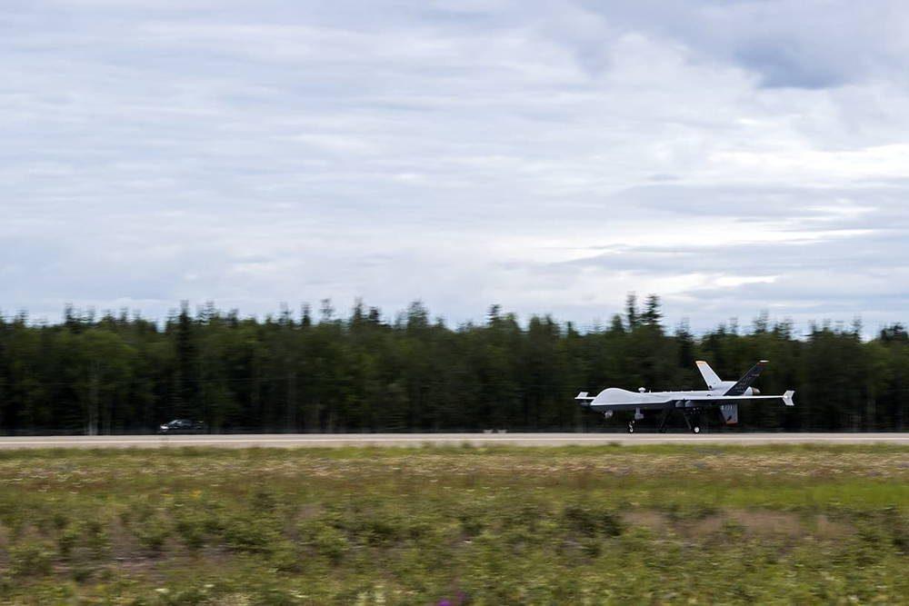 Aviones MQ-9 participaron en Red Flag Alaska por primera vez