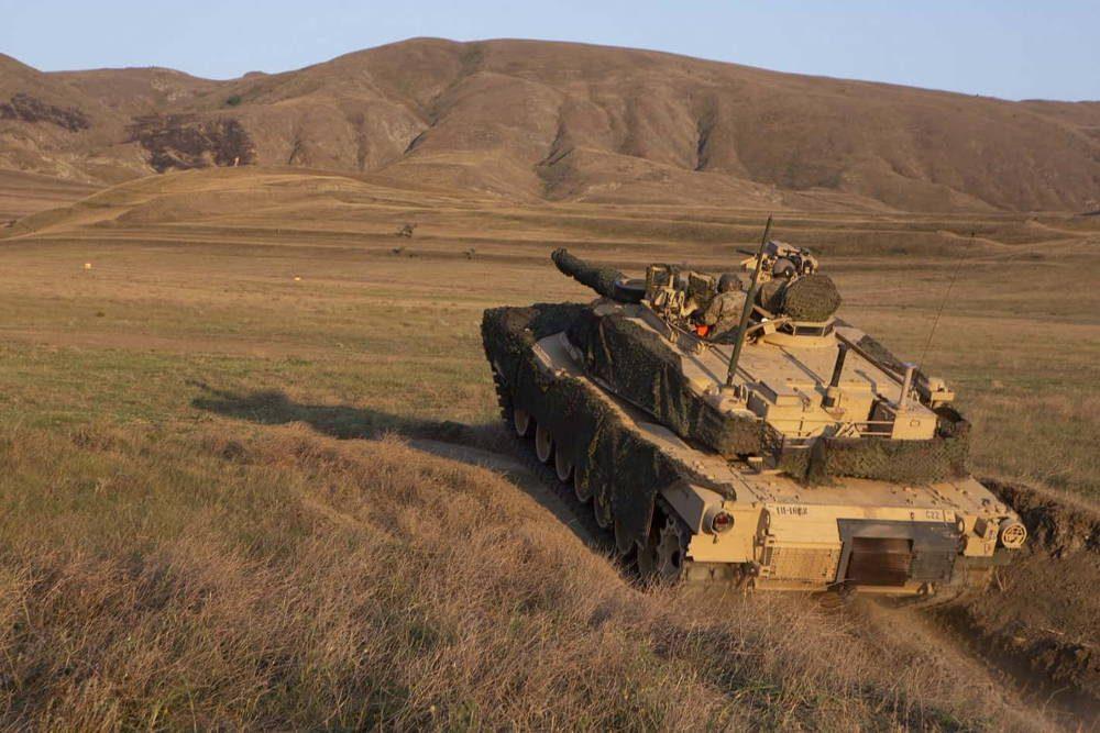 Tanque M1A2 Abrams participa en el ejercicio Agile Spirit 2019 en Georgia
