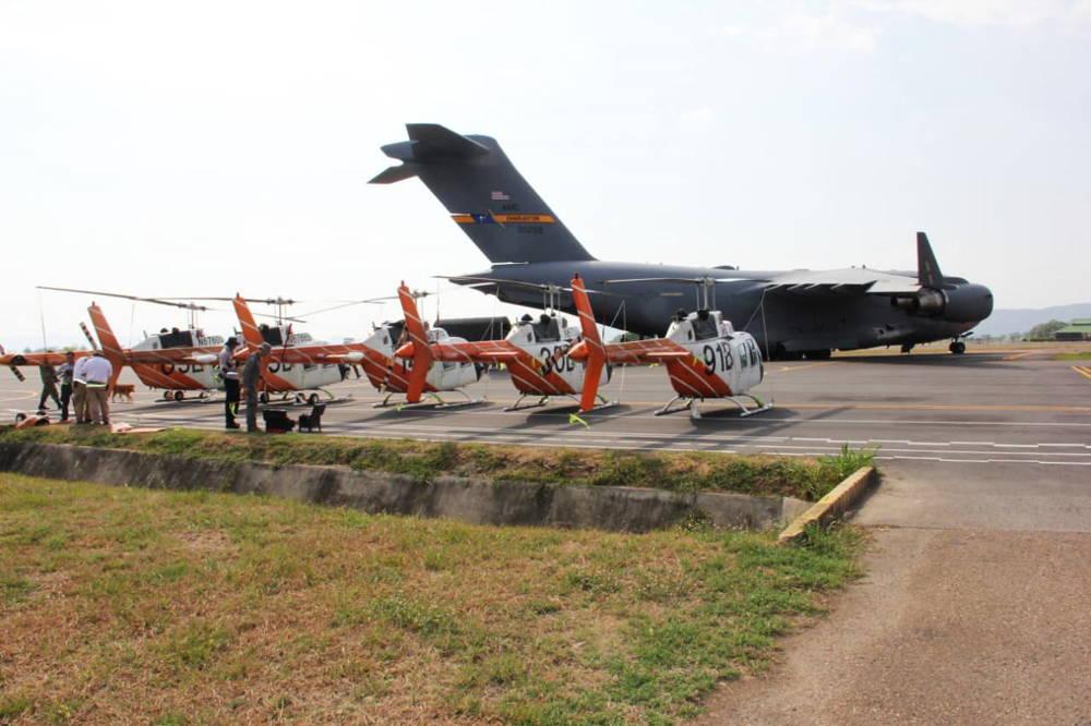 Estados Unidos envía 60 helicópteros de entrenamiento TH-67 Creek a Colombia