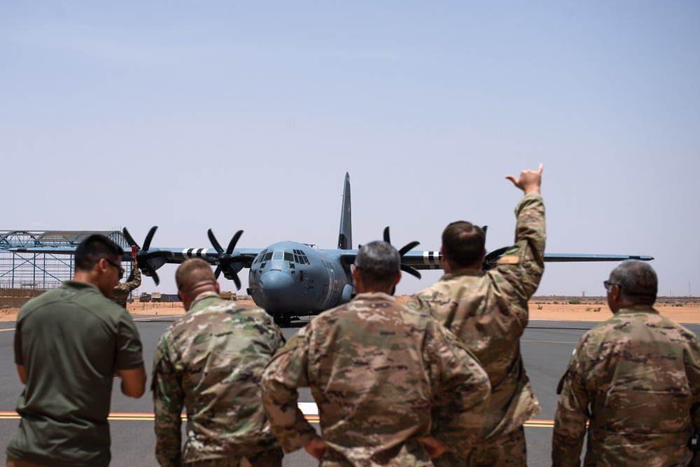 Nueva base operativa de la Fuerza Aérea de EE.UU. en el centro de Níger está lista para su uso