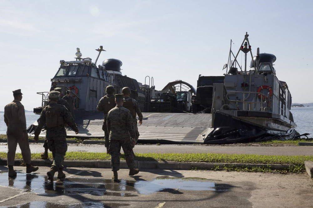 Marina de EE.UU. llega a Brasil para participar en el ejercicio marítimo UNITAS LX