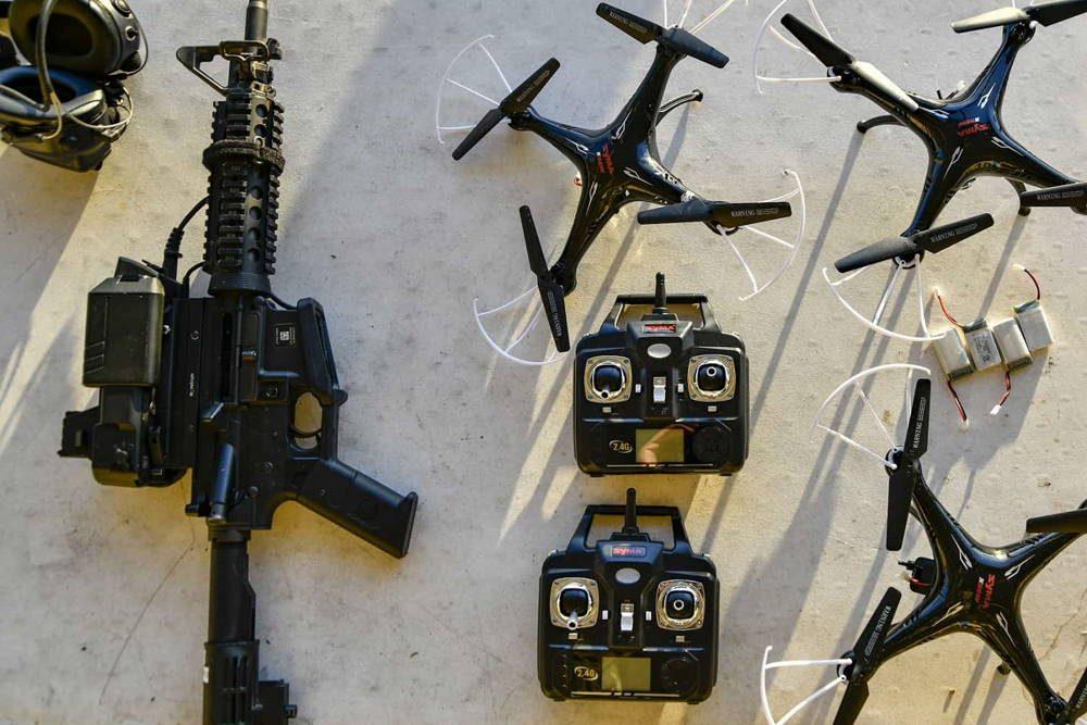 Fuerza Aérea de EE.UU. demuestra el sistema de control de fuego montado en rifle