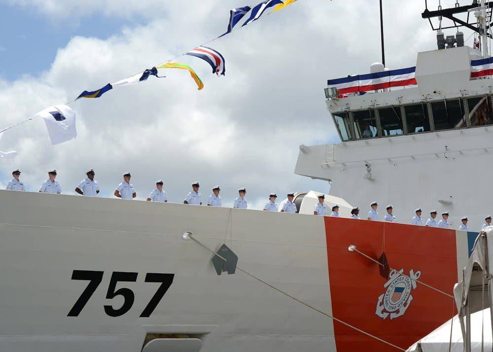 Guardia Costera de EE.UU. comisiona dos nuevos cortadores de seguridad nacional