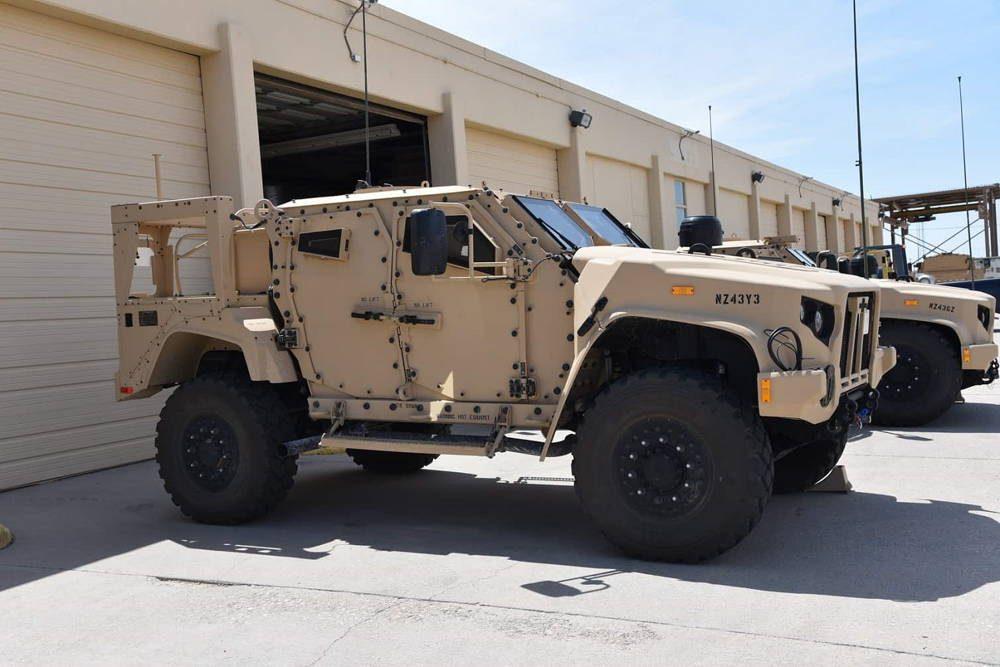 Comando Conjunto de Modernización del Ejército de los EE.UU. recibe los primeros JLTVs