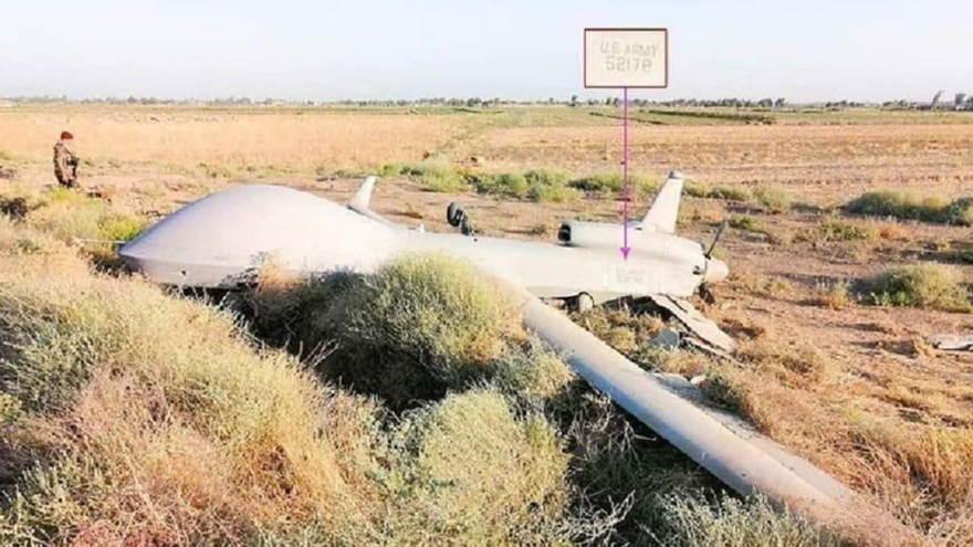 Avión MQ-1C Gray Eagle de EE.UU. se estrelló en Irak