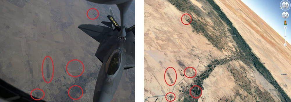 Cazas furtivos F-22 de la Fuerza Aérea de EE.UU. regresan a los cielos de Siria