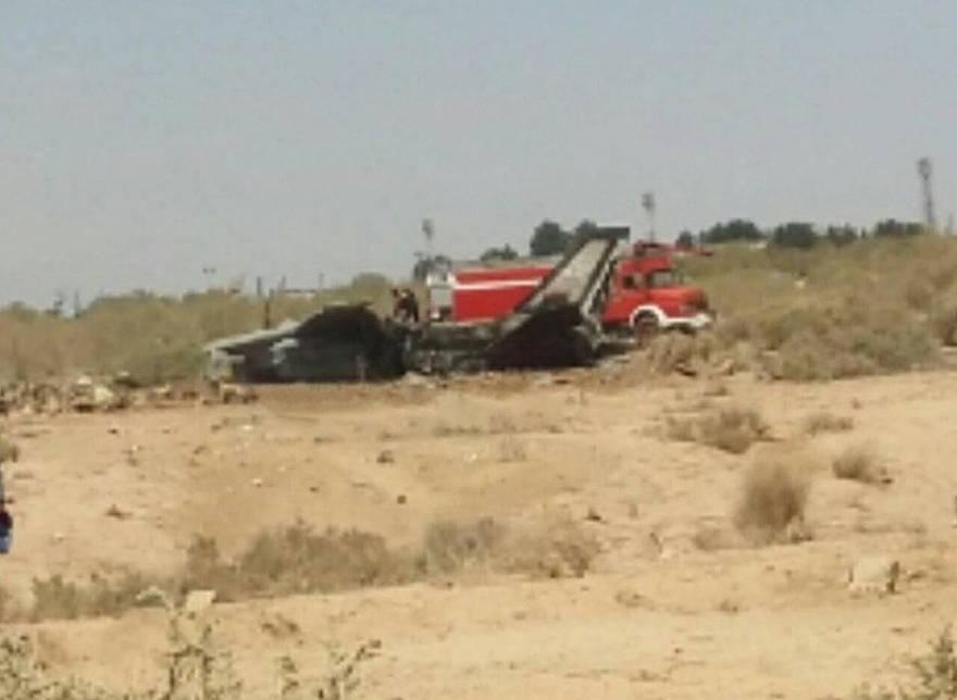 Cómo se estrelló uno de los cazas Tomcat F-14 de Irán