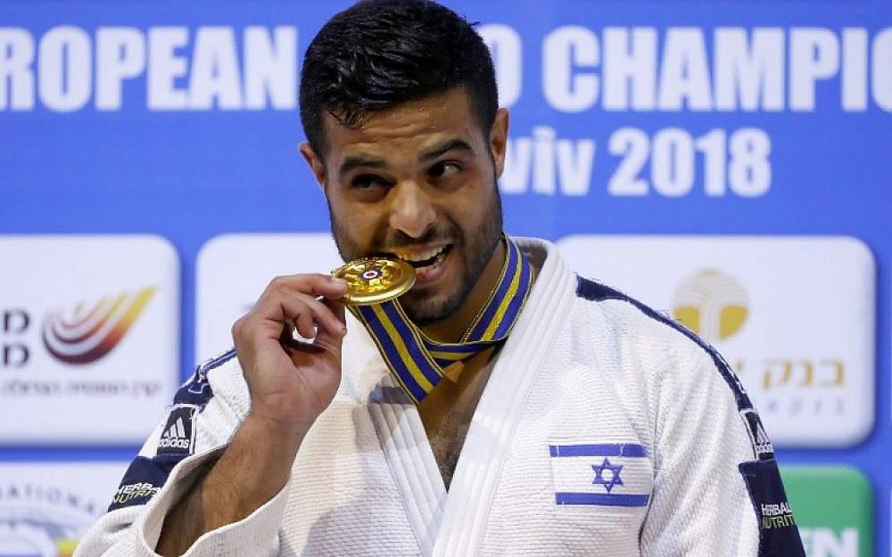 Campeón israelí de judo recauda 250 mil shekels para ayudar a combatir el COVID-19