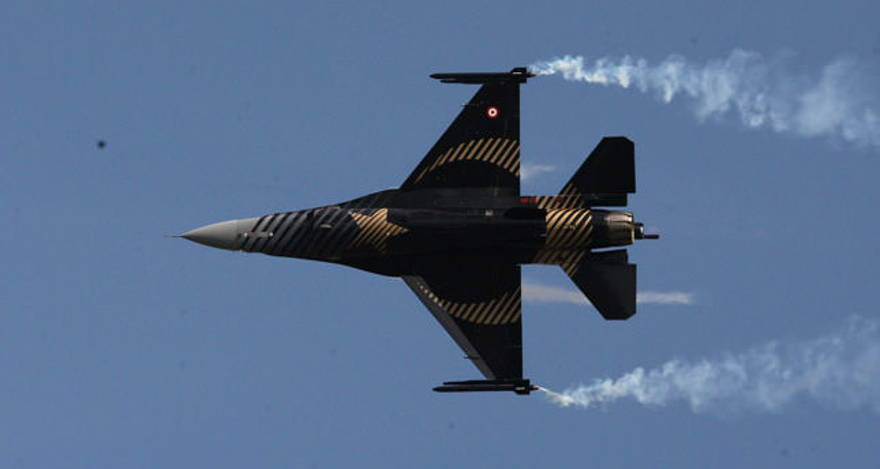 Turkish F-16 Combat Aircraft