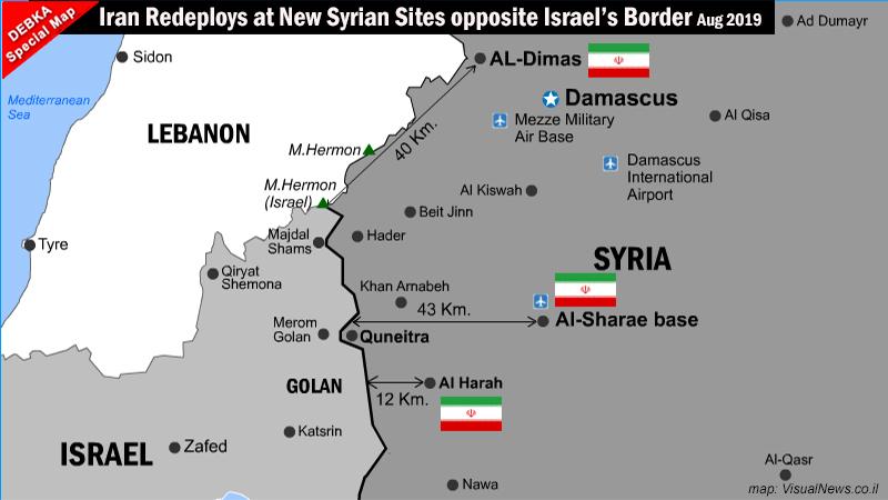 Irán transporta drones hacia las fronteras de Israel con Siria y Líbano.