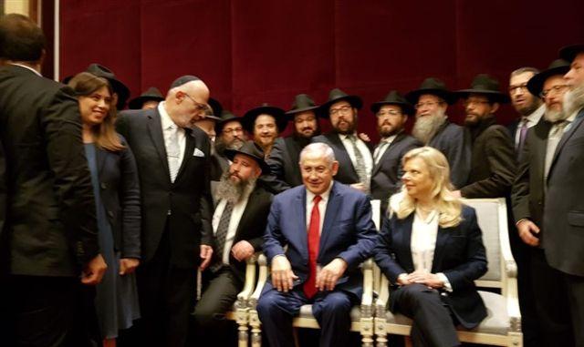 Netanyahu se reúne con los líderes judíos de Kiev (La Federación de Comunidades Judías en Ucrania)