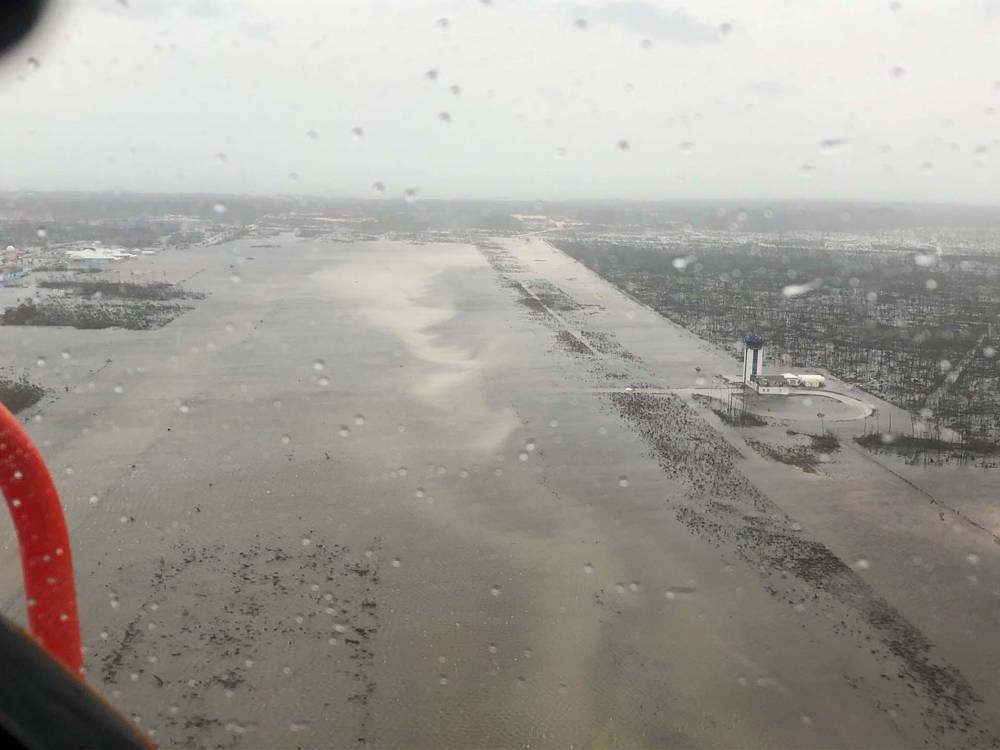 Una vista aérea de las inundaciones (Reuters)