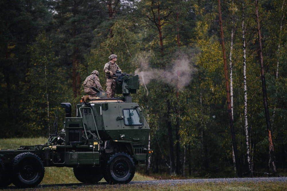 Paracaidistas de EE.UU. prueban el nuevo sistema CROWS
