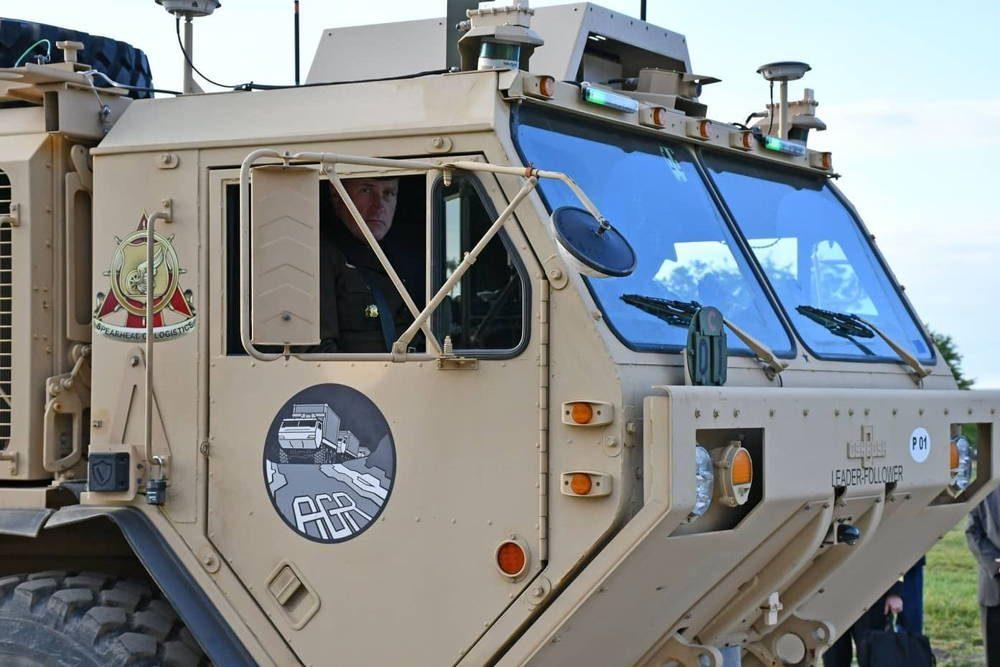Ejército de EE.UU. está un paso más cerca de tener vehículos autónomos