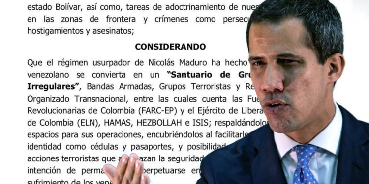 Juan Guaidó de Venezuela designó a Hezbolá y Hamas como organizaciones terroristas