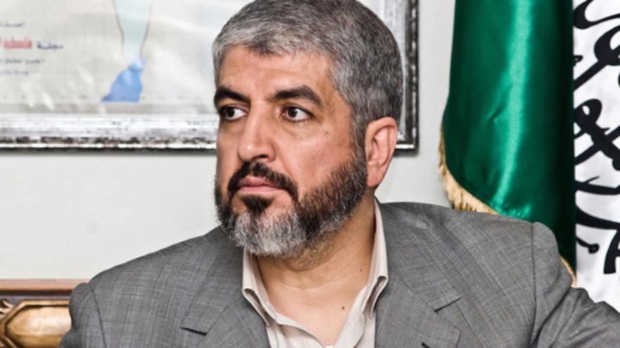 El ex líder de Hamas Khaled Mashaal. Crédito: Trango a través de Wikimedia Commons.