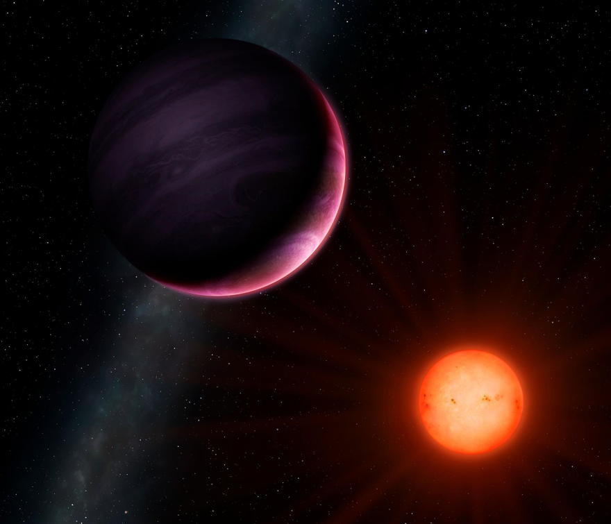 Astrónomos descubren planeta gigante orbitando alrededor de una estrella  enana