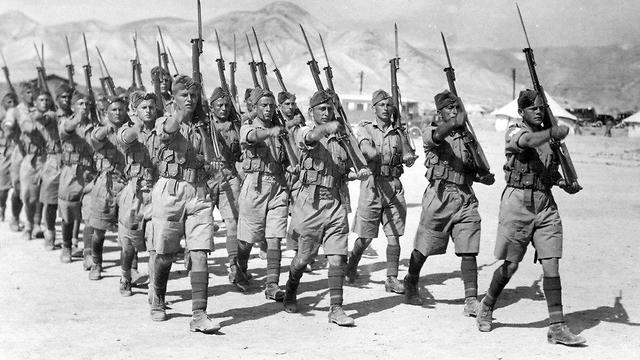 Soldados judíos en el ejército británico (Foto: Archivo del Ministerio de Defensa)