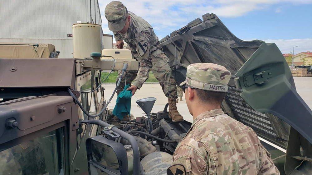 Brigada Greywolf aumenta su preparación durante su rotación en Corea