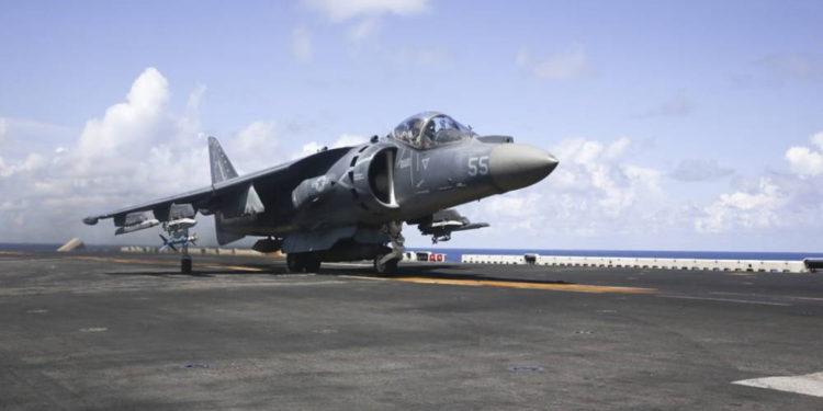 Cuerpo de Marines de EE.UU. publica video de AV-8B Harriers durante Tiger Strike 2019