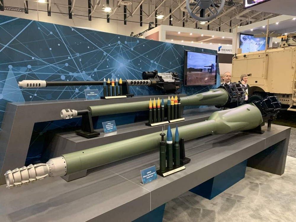 Northrop Grumman presenta el cañón con cadena de 50 mm para el Vehículo de Combate
