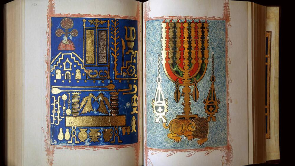 La Biblia Kennicott, una de las copias más antiguas y caras de la Biblia hebrea. Crédito: Wikimedia Commons.