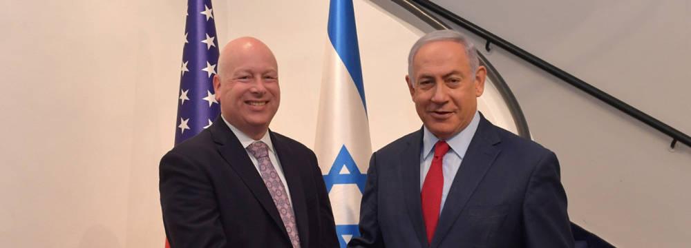 Greenblatt: El plan de paz no puede ser aplicado hasta las elecciones israelíes