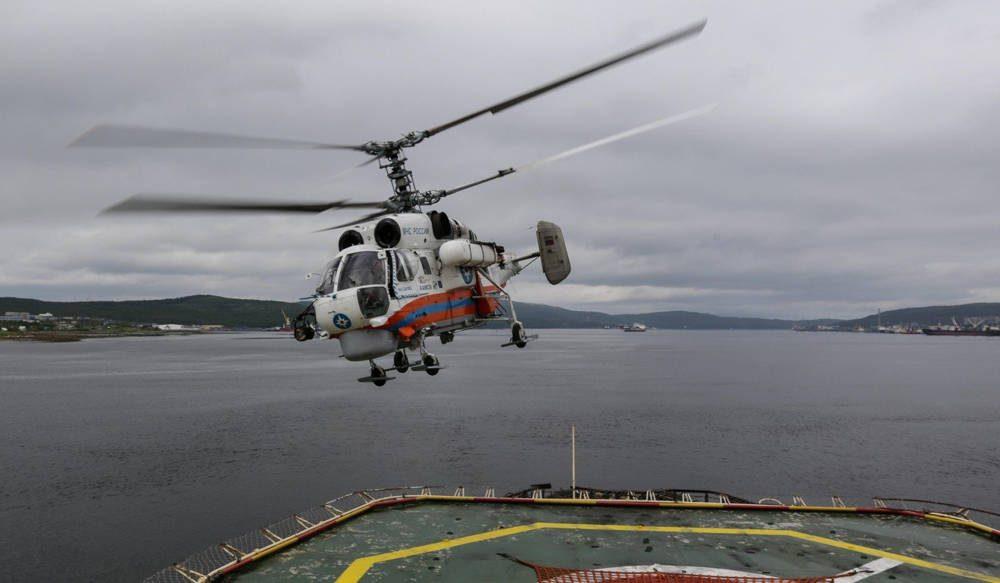 El helicóptero Ka-32A11VS altamente versátil, parte de las compras militares de China a Rusia. Foto: Alamy
