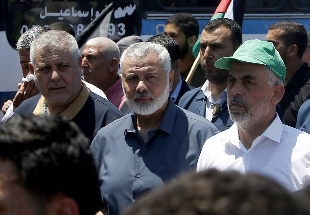Líder de Hamas se reunió con el enviado de Qatar a la franja de Gaza