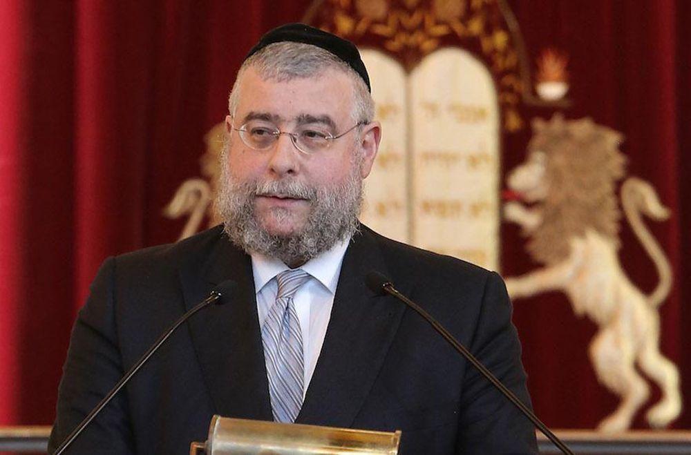 El rabino jefe de Moscú Pinchas Goldschmidt