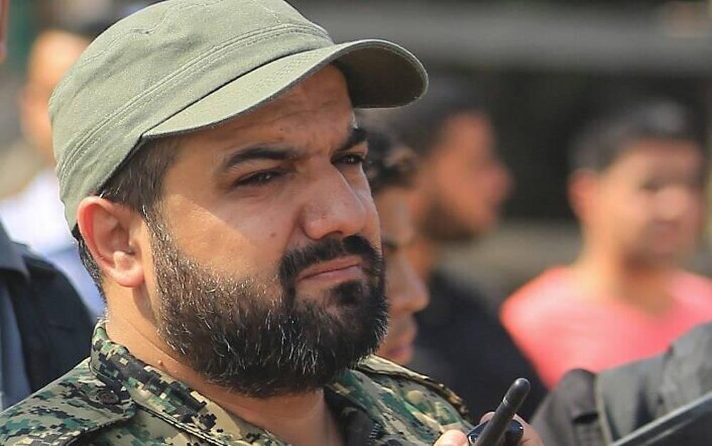 En esta foto tomada el 21 de octubre de 2016, el líder terrorista de la Jihad Islámica Palestina Baha Abu al-Ata asiste a un mitin en la ciudad de Gaza. (STR / AFP)