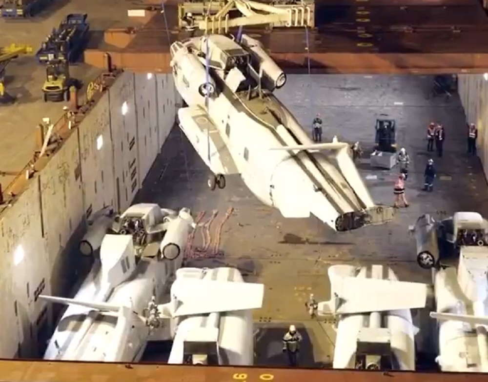 Israel recibe helicópteros retirados de la Infantería de Marina de los Estados Unidos