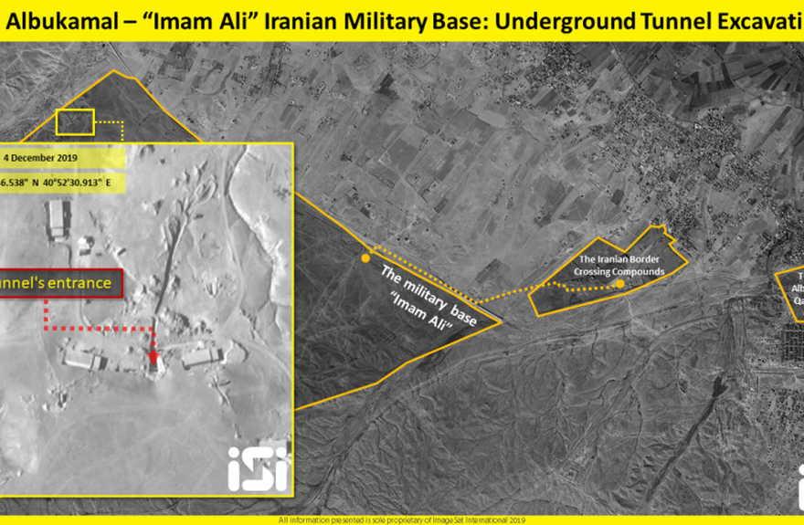 La base Imam Ali de Irán es clave para su vínculo de influencia sobre Irak y Siria