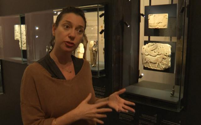 Museo de Israel inaugura exposición sobre los jeroglíficos del antiguo Egipto