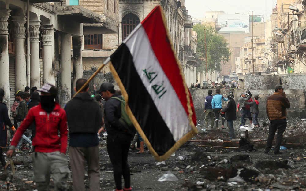 Hombres armados no identificados asesinan a quince manifestantes en Irak