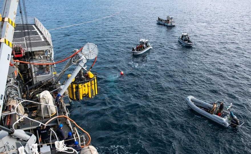 Marina de Israel e Italia realizaron con éxito simulacro de rescate submarino
