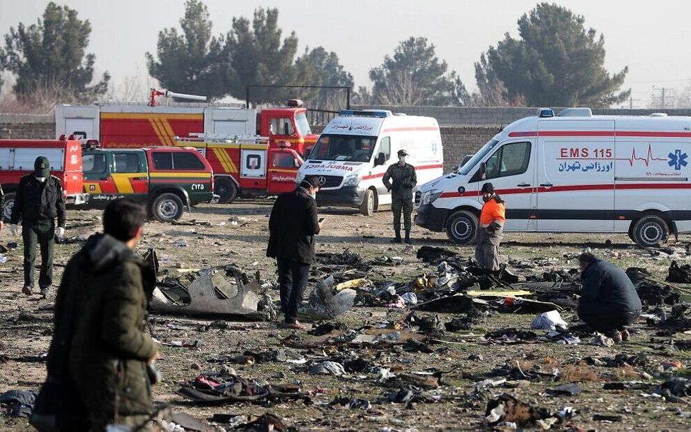 Accidente de avión en Irán dejó 63 canadienses muertos