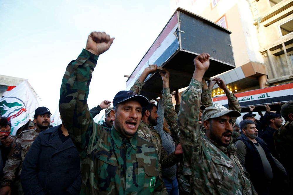 Trump asegura que Irán planea un ataque contra bases militares de EU