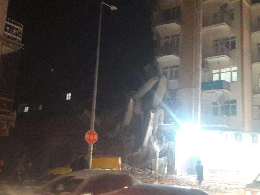Sismo de magnitud 6.8 sacude el sureste de Turquía