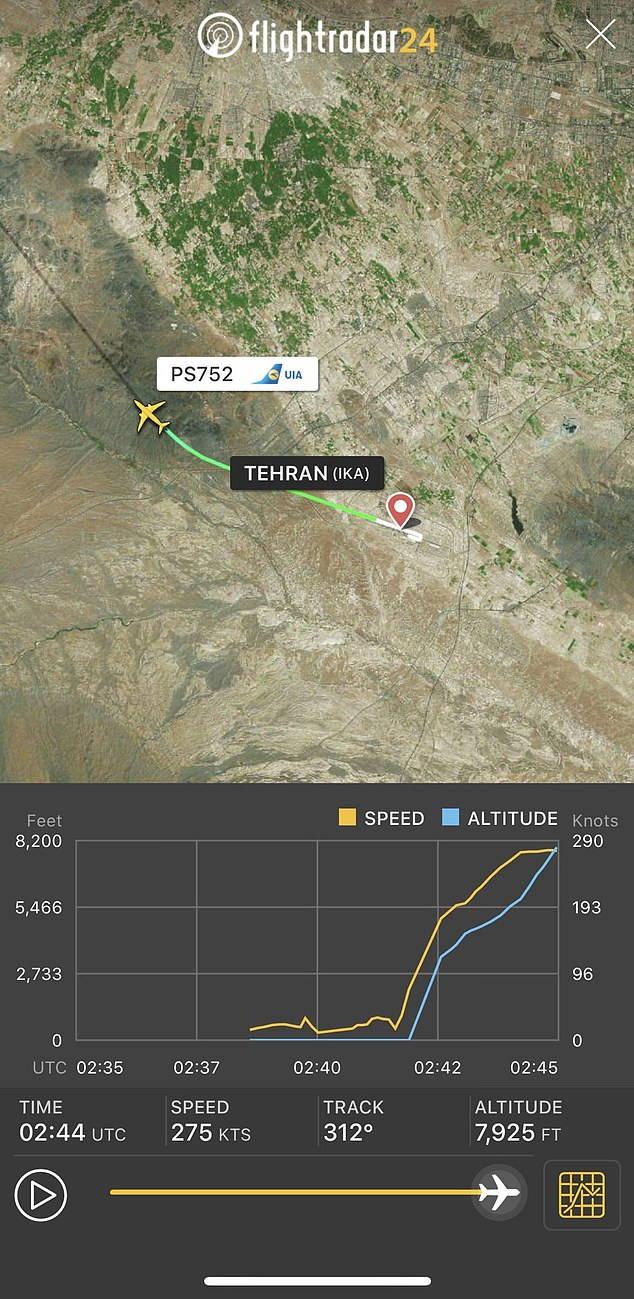 Se estrella avión ucraniano con 180 pasajeros al despegar desde Teherán