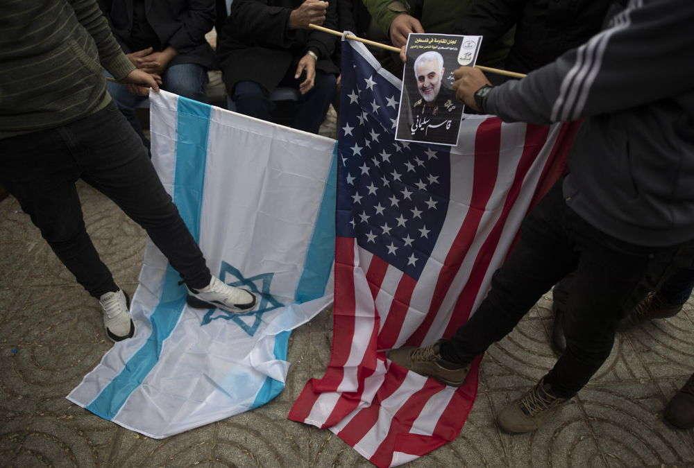 """Terroristas de Gaza establecen """"sitio de luto"""" en honor a Soleimani"""