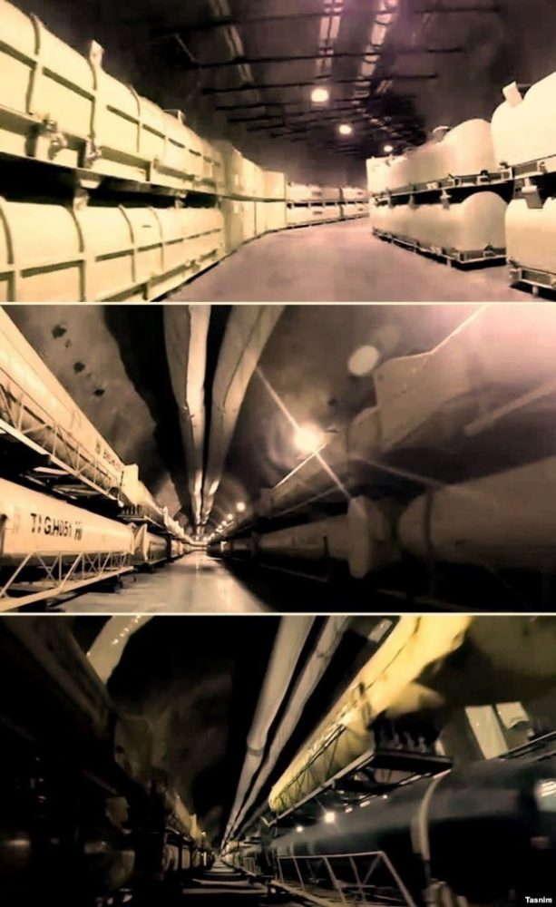 """La """"ciudad de los misiles"""" subterránea secreta de Irán revelada"""