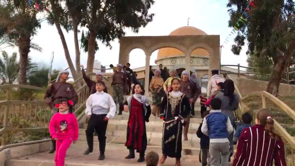 Parque de diversiones en Gaza simula paseo en tren hacia Jerusalem